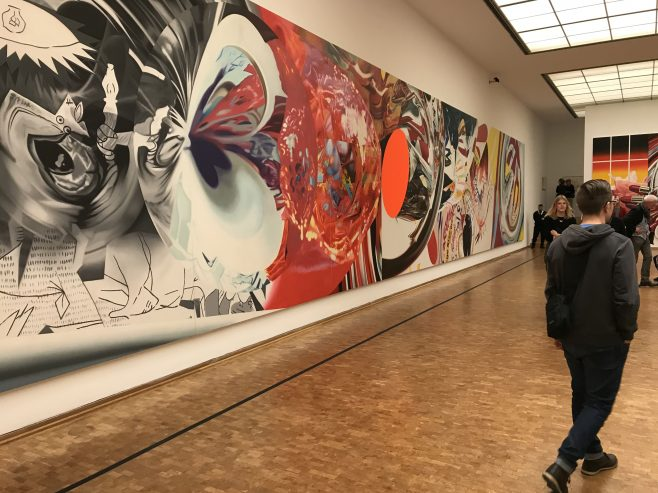 James Rosenquist in Museum Ludwig